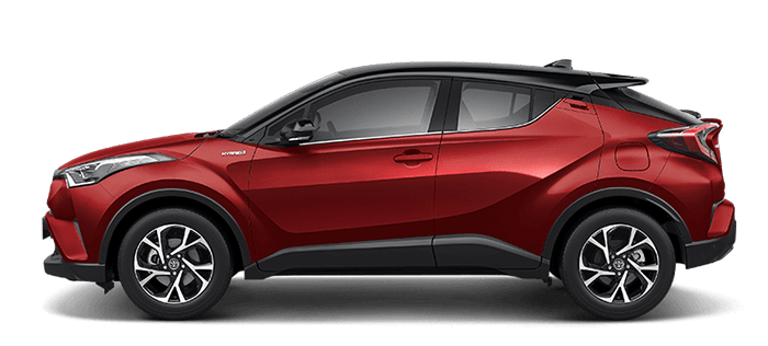 Toyota C-HR red color